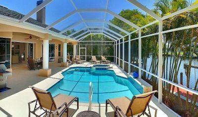 Ihr deutscher immobilienmakler in florida f r die vermietung und den verkauf von luxusvillen und - Wintergarten mit pool ...