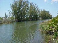 langer Kanalablick Florida
